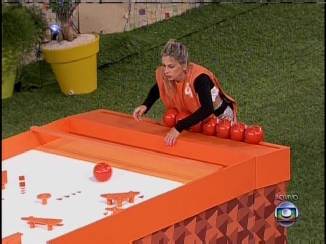 19.jan.2014 - Vanessa jogando