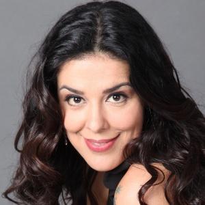 A atriz Marcela Leal
