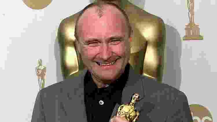 """21.jan.2014 - Em 2000, Phil Collins recebeu o Oscar por """"You?ll Be In My Heart"""", composta para a animação ?Tarzan?. - AFP - AFP"""