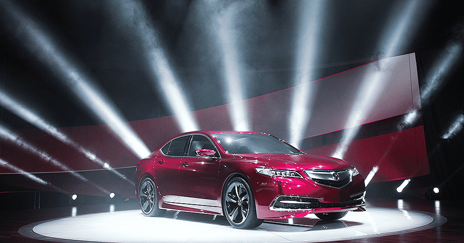Acura TLX Concept - Bill Pugliano/Getty Images/AFP