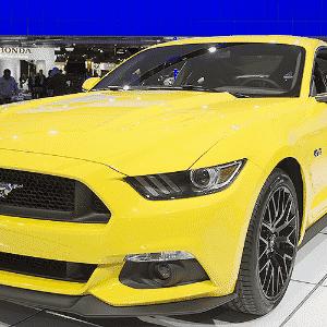 Ford Mustang GT 2015 - Jasen Vinlove/ZUMAPRESS/Xinhua