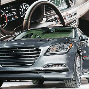 Hyundai Genesis 2015 - Scott Olson/Getty Images/AFP