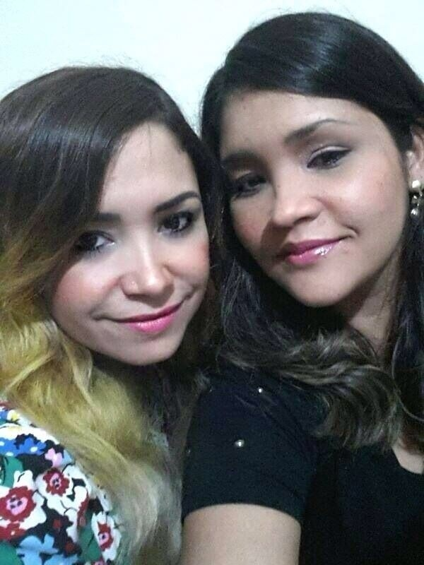 """Mirla Prado, do """"BBB9"""", com a irmã Larissa"""