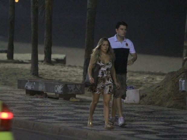 Renata do 'BBB12' e o irmão Bruno
