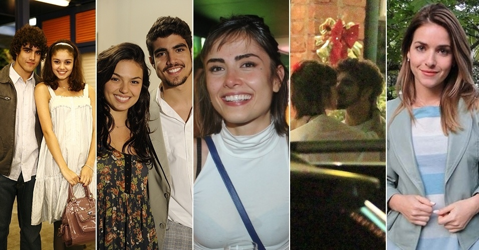 Caio Castro faz 25 anos; veja as famosas que o galã já seduziu - BOL Fotos - BOL Fotos