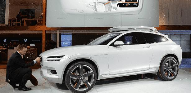 Volvo XC Coupé Concept - Stan Honda/AFP - Stan Honda/AFP