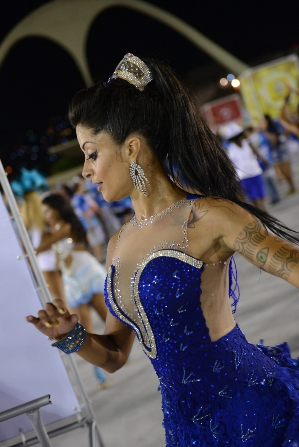 19.jan.2014 - Aline Riscado, bailarina do