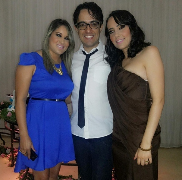"Alisson do ""BBB14"" com as irmãs Erika e Aline"