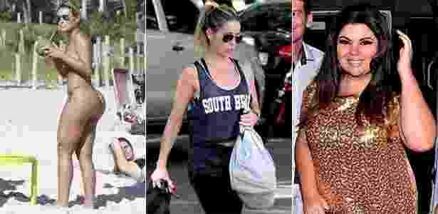Andressa Urach, Danielle Winits e Fabiana Karla falaram sobre suas preferências quando o assunto é moda praia - AgNews/AgNews/FotoRio News