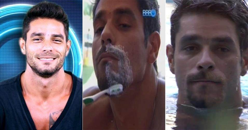 Diegou mudou a cor da barba