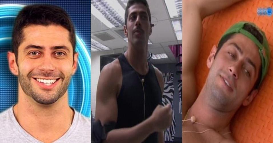 Marcelo mudou o visual, mas desistiu e apareceu sem barba