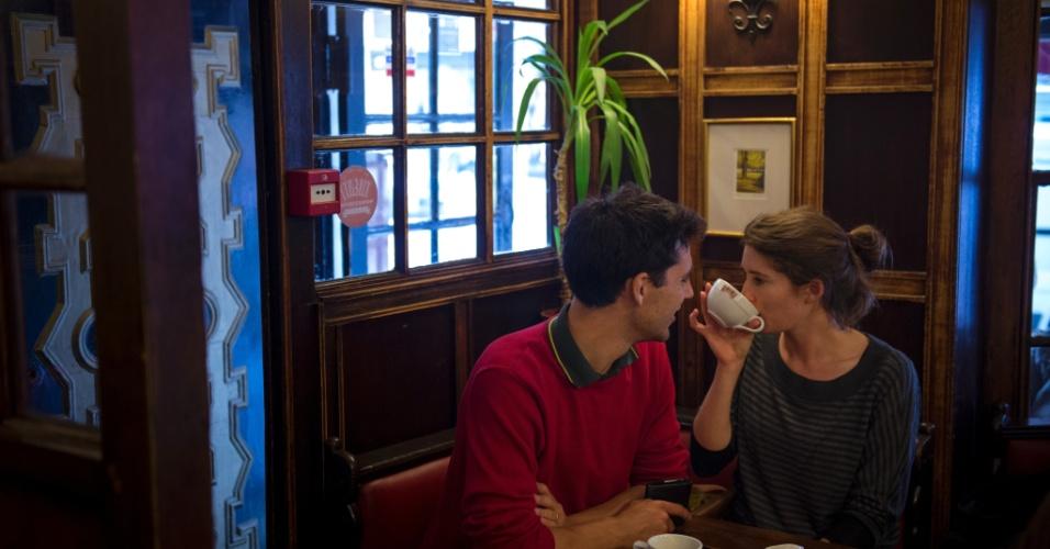 O Coffee Cup, uma lanchonete dos anos 50, é uma verdadeira instituição de Hampstead e alega ser a mais antiga de Londres