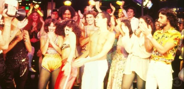 "1979 - Sônia Braga como a Júlia de ""Dancin' Days"""