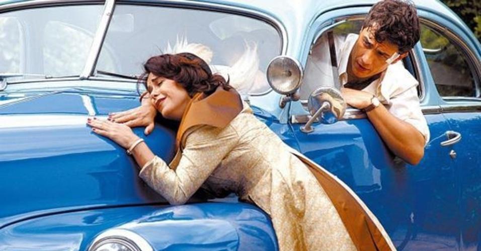 """Lucélia Santos já foi namoradinha do Brasil. """"Escrava Isaura"""" e """"Sinhá Moça"""" são obras lembradas ainda hoje por causa da atriz. O último longo papel de Lucélia foi em """"Cidadão Brasileiro"""", de 2006. O que Leôncio diria disso?"""