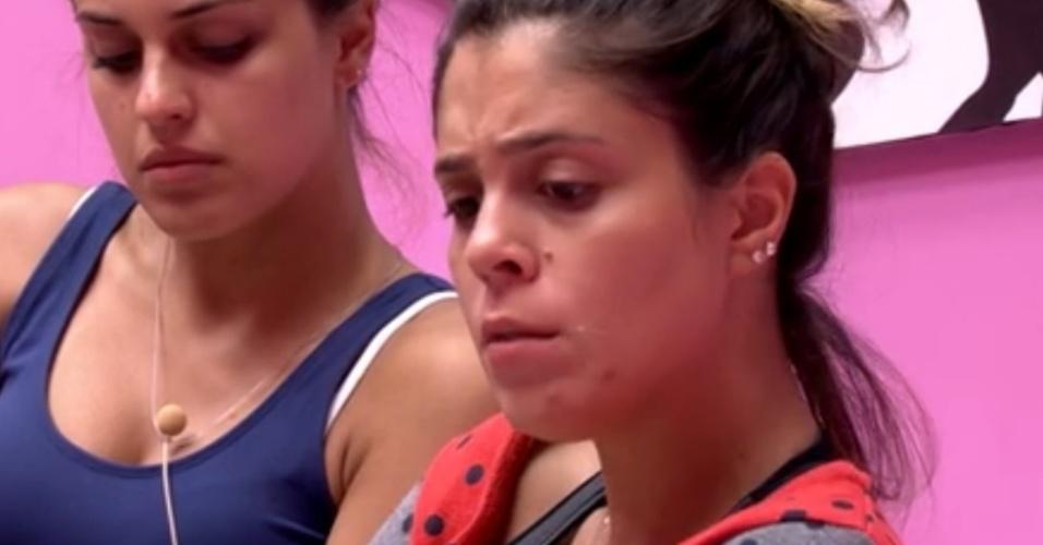 24.jan.2014 - Bela conversa comn Angela diz que Diego agora é seu inimigo