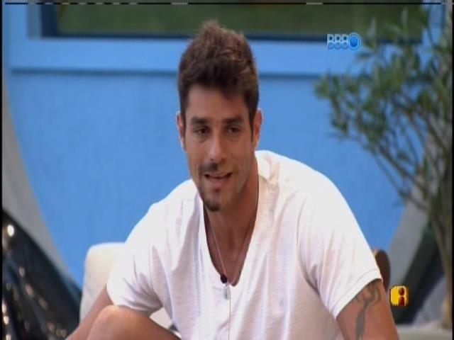 24.jan.2014 - Diego fala sobre paredão