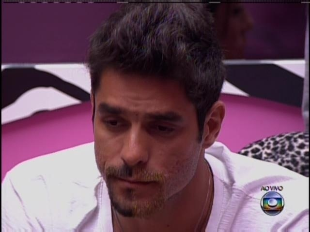 24.jan.2014 - Diego já esperava a votação