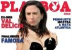 Tatá Werneck mostra capa de revista masculina com Valdirene - Reprodução Instagram
