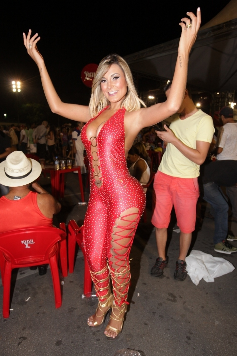 26.jan.14 - Para o Carnaval de 2014, a Leandro de Itaquera prepara o desfile com o enredo