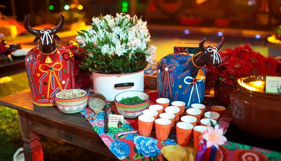 25.jan.2014 - Decoração da Festa Aperreada