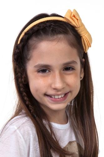 """Em """"Chiquititas"""", Lúcia (Bianca Paiva) é uma garota meiga e bonita"""