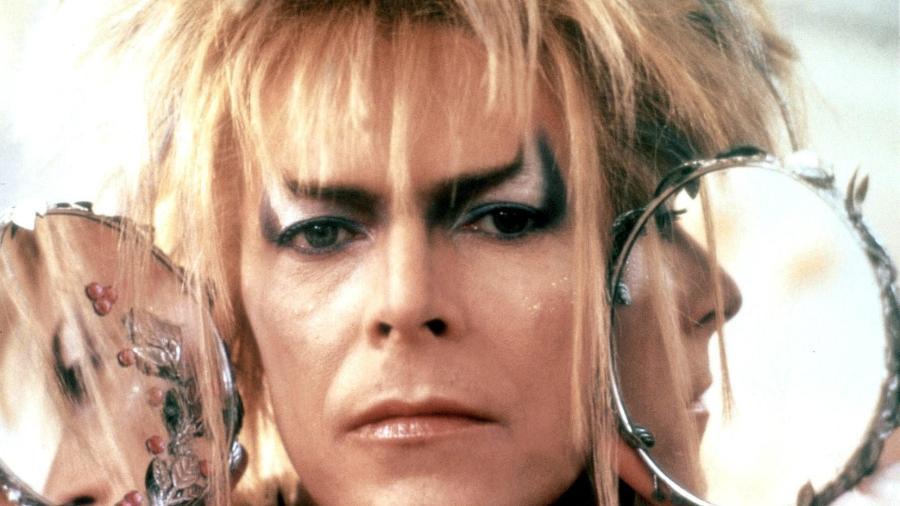 """David Bowie em """"Labirinto - A Magia do Tempo"""" (1986) - Reprodução"""