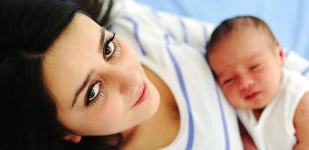 Ficar cansada do recém-nascido algumas vezes não significa que você não será boa mãe - Getty Images