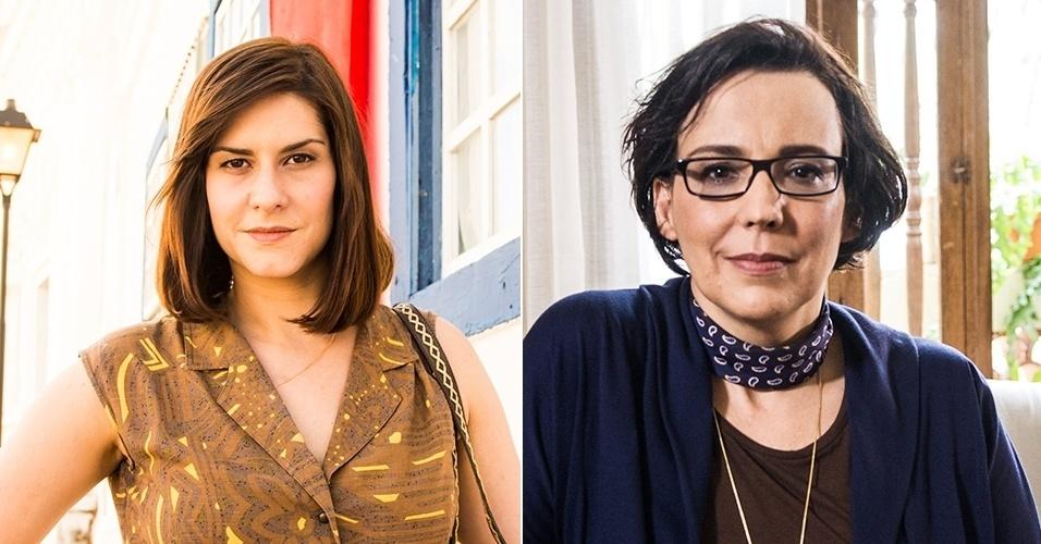 """Camila Raffanti e Ana Beatriz Nogueira vivem Selma em """"Em Família"""""""