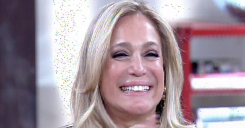 """31.jan.2014 - Susana Vieira fala sobre """"Amor à Vida"""" no """"Encontro Com Fátima Bernardes"""""""