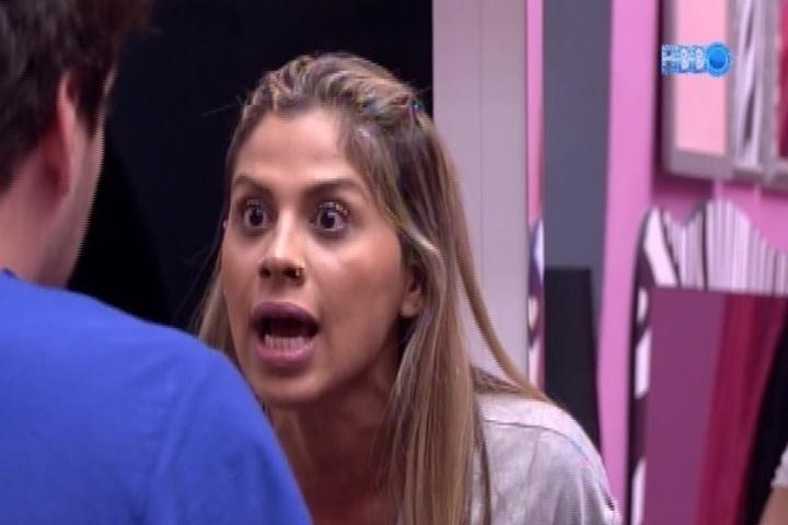 Vanessa x Cássio, pelo gaúcho ter questionado a relação dela com Clara