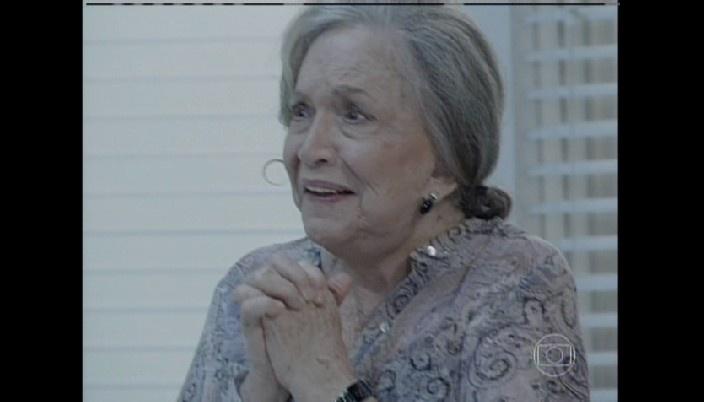 Bernarda se emociona com nascimento do bisneto