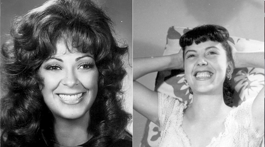 """""""Calúnia"""" (1963): Vida Alves beijou Geórgia Gomide no teleteatro """"Calúnia"""", de Lillian Helmann, exibido no programa """"TV de Vanguarda"""", da TV Tupi - SP"""