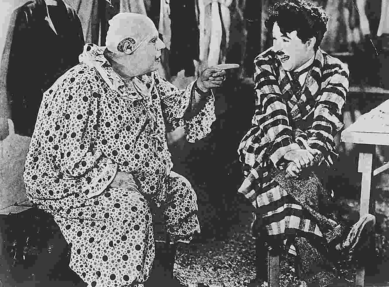 """O ator Charlie Chaplin em """"O Circo"""", de 1928 - Folhapress"""