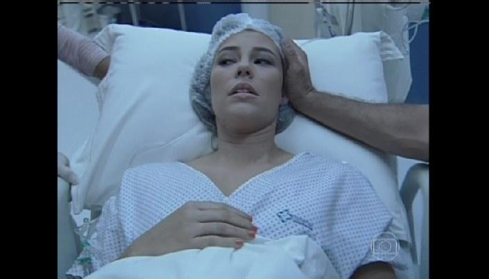 Paloma se prepara para o parto