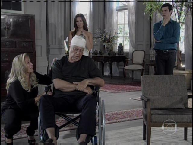 Pilar pede perdão a César