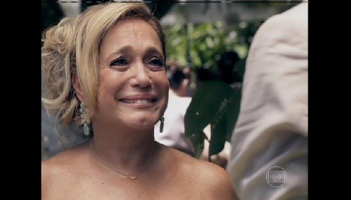 Pilar se emociona com Félix e Paulinha