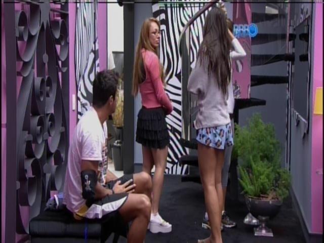 01.fev.2014 - Diego, Aline, Angela e Franciele