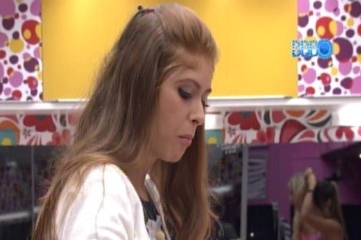 03.fev.2014 - Em jogo, Amanda foi definida como a mais fofoqueira da casa