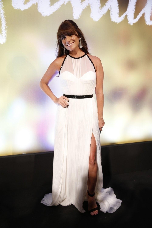 2.fev.2014 - Giovanna Antonelli na festa da novela