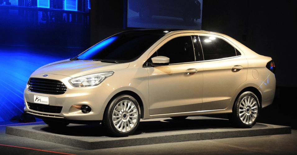 Ford Ka Concept  Portas Ka Sedan