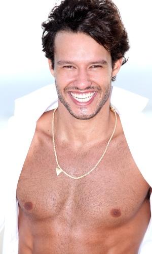 3.fev.2013 - Nando Rodrigues posou para as lentes do fotógrafo Neto Fernandez
