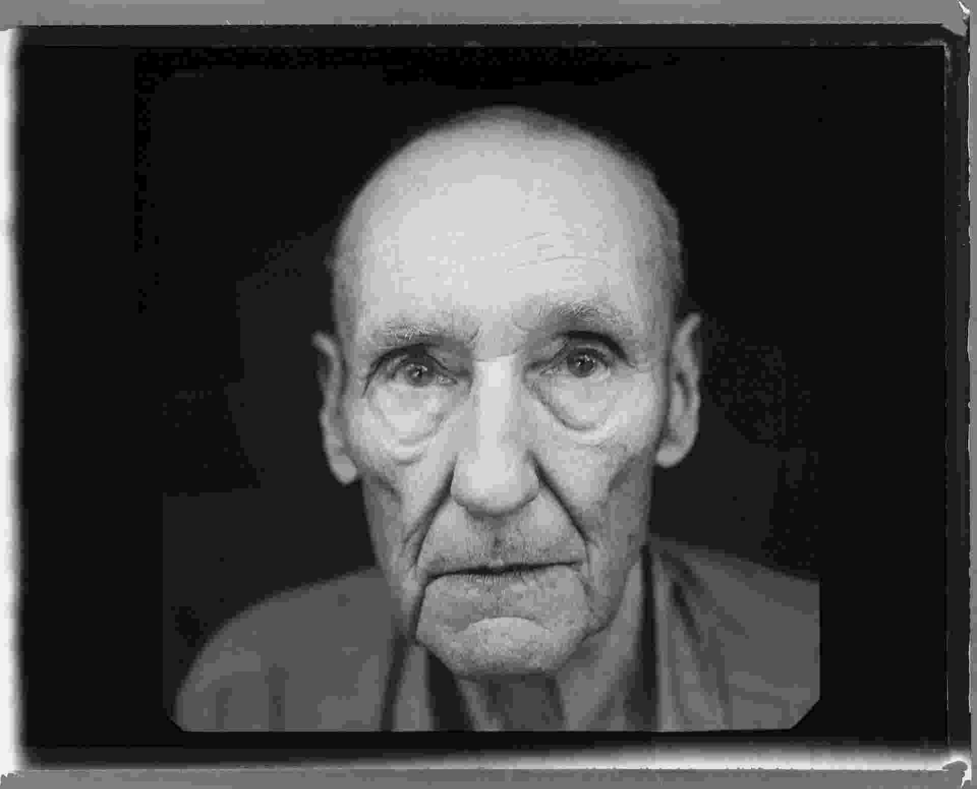 Retrato de William Burroughs feito pela fotógrafa Annie Leibowitz que esteve em exposição na Royal Academy de Londres em 2008 - Divulgação/Royal Academy