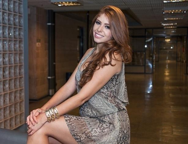 """04.fev.2014 - Com  65% dos votos, Amanda é a sétima eliminada de """"Big Brother Brasil 14"""""""