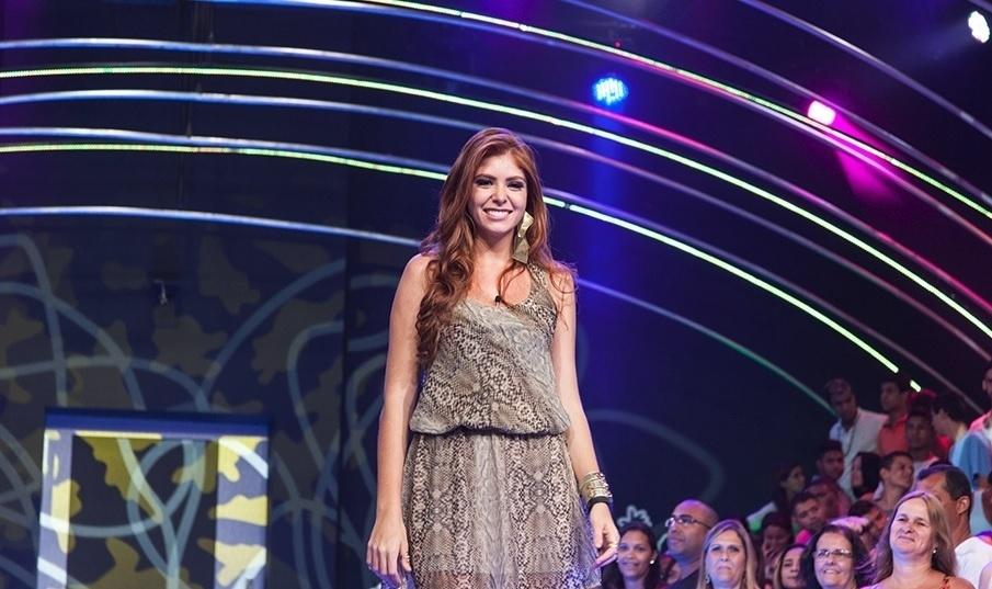 04.fev.2014 - Com 65% dos votos, Amanda é a sétima eliminada de