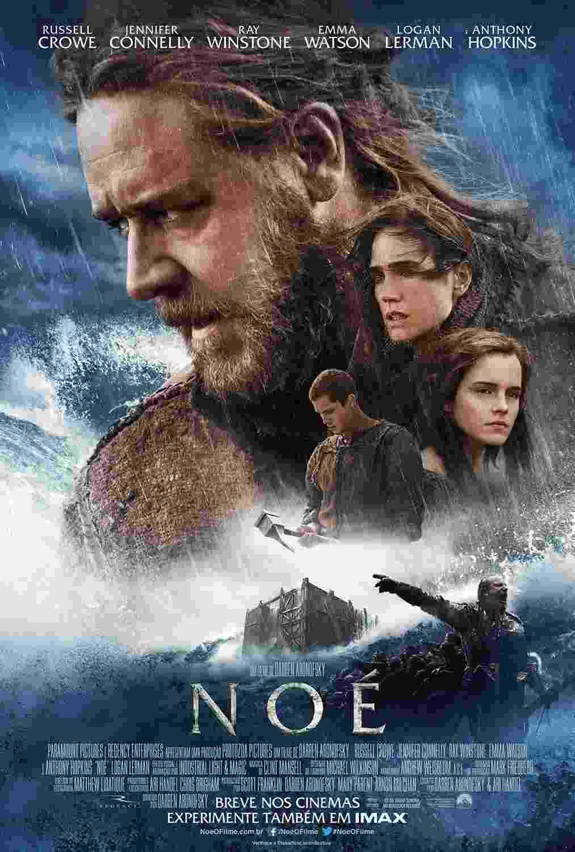 """6.fev.2014 - Divulgado o pôster de """"Noé"""", épico bíblico estrelado por Russell Crowe e dirigido por  Darren Aronofsky (""""Cisne Negro"""") - Divulgação"""