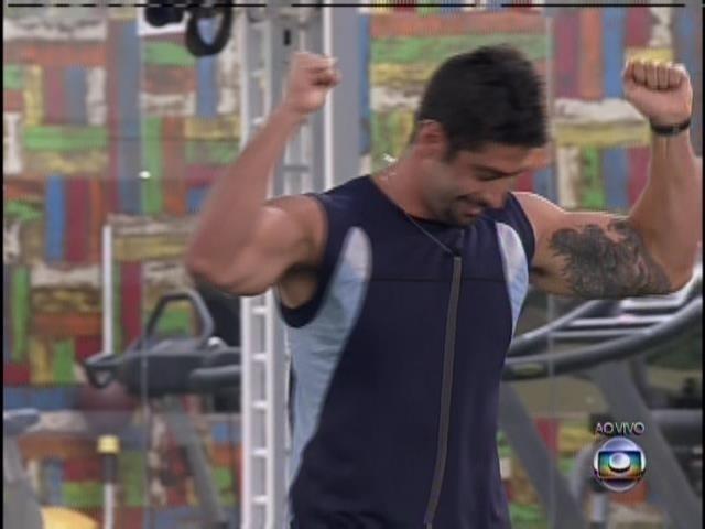 6.fev.2014 - Marcelo vence prova e é o novo líder