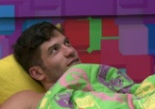 """""""O Alisson foi tarde"""", dizem Roni e Junior lembrando dos eliminados - Reprodução/Globo"""