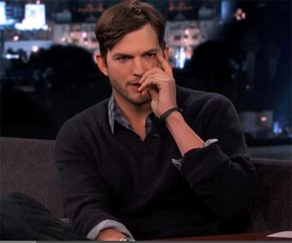 Ashton Kutcher desabafa sobre ataques de Charlie Sheen: