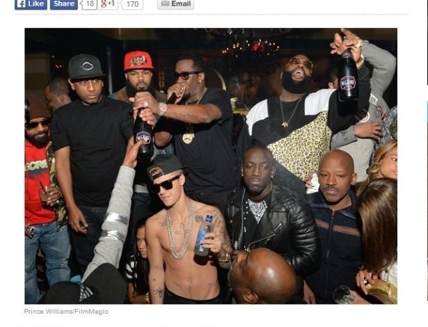 Carro que Justin Bieber dirigia em Miami atingiu 218 km/h, diz site