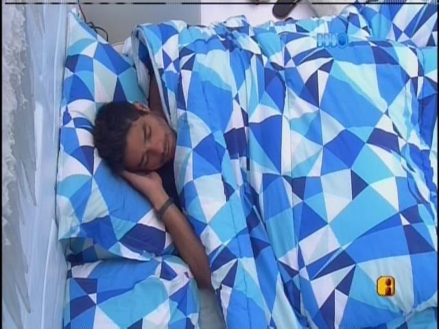 7.fev.2014 - Diego dorme no quarto Sibéria.